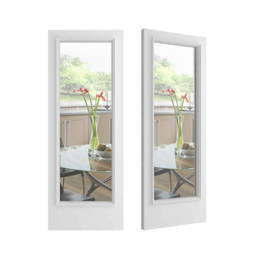 Pretty Simple Door - Clear Glass