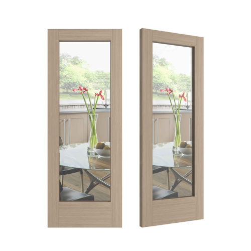 Very Square Door - Clear Glass