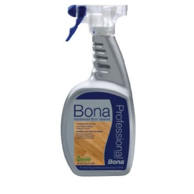 Bona pro series hardwood floor cleaner spray 32 oz las for Wood floor cleaner bona