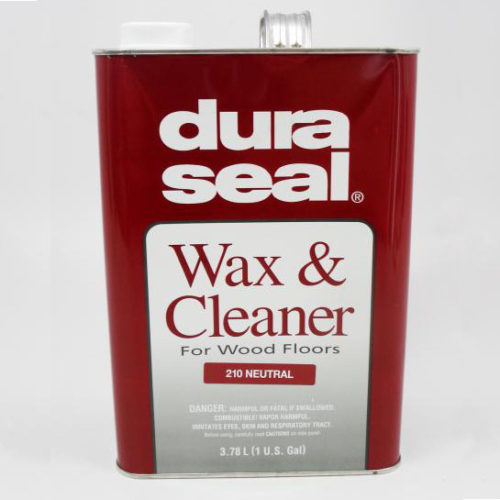 Dura seal wax and cleaner for wood flooring neutral las for Wood floor wax remover