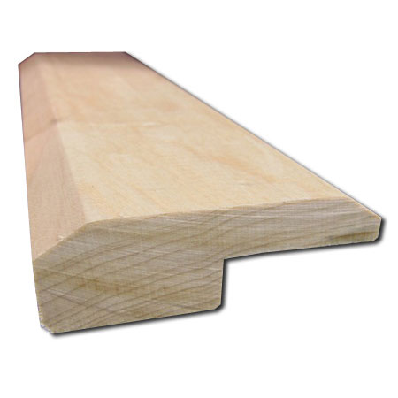 5 8 X2 Unfinished Maple Square Nose Reducer Las