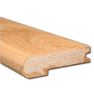 3 4 X3 1 2 Unfinished Red Oak Stair Nosing Las Hardwoods